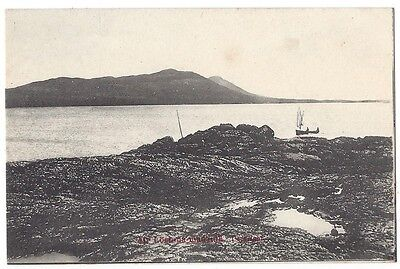 LOCHMADDY Loch na madaidh, North Uist, Old Postcard Unused