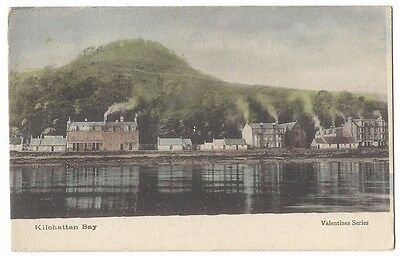 BUTE Kilchattan Bay, Old Postcard by Valentine Postally Used 1904