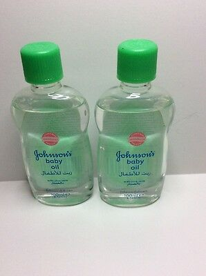 Johnson's Baby Oil With Aloe Vera Twin Pack. New