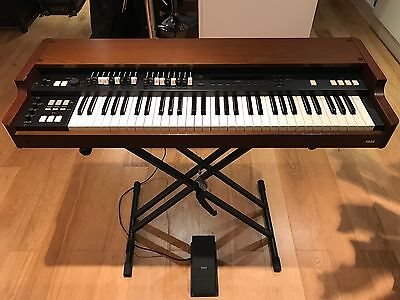 Korg CX3 Organ incl. volume pedal and soft case, power lead, manual, s.n. 000012