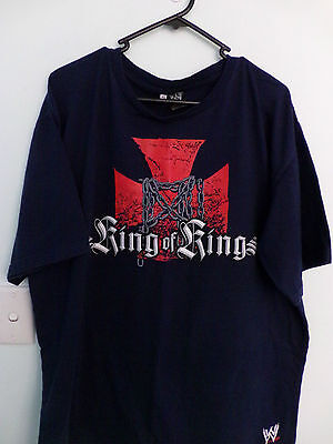 WWE T/Shirt  Triple H King of Kings perfect condition   size XL