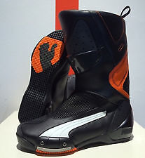 PUMA moto boots 500 Black-Orange (44=10,5US) 305065_01