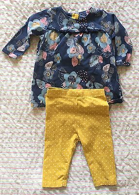 Baby Girls M&S Outfit 3-6 Months