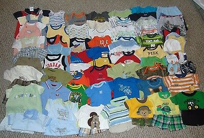 Hugh Lot Boy Clothes 0-3 months Summer Outfits Shirts Shorts Rompers Shoes