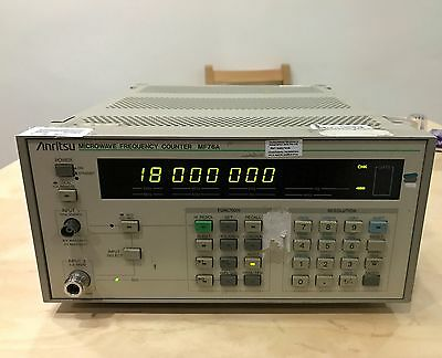 Anritsu MF76A Microwave Frequency Counter 10Hz to 18GHz