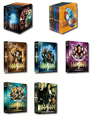 Pack Integrale Farscape Saison 1 A 4 + Peacekeeper Wars