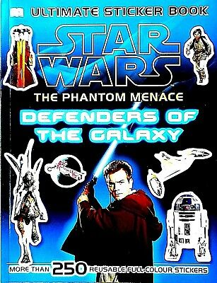 Star Wars | Defenders of the Galaxy | The Phantom Menace | Ultimate Sticker Book