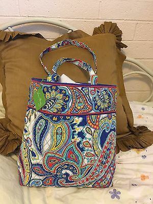 Vera Bradley Marina Paisley Tote Brand New With Tags Bag