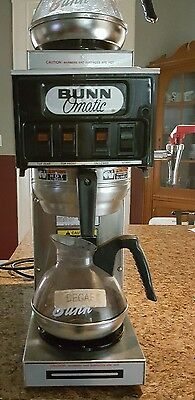 Bunn Commercial Coffee Maker STF-15  3 Burner Automatic or Pour Over