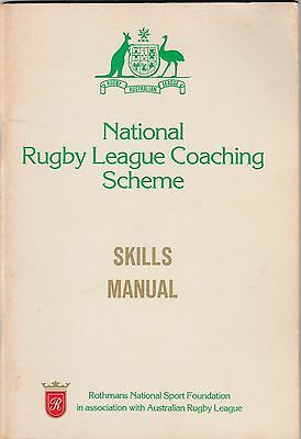 National Rugby League Coaching Scheme Skills Manual