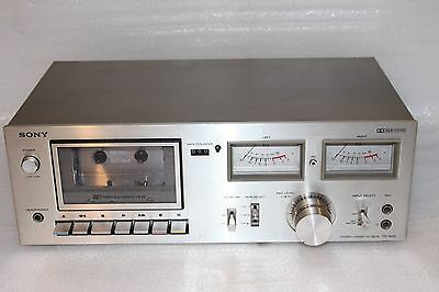 SONY TC-K15 Tapecorder Cassette Deck Kassettenspieler Rekorder MADE IN JAPAN