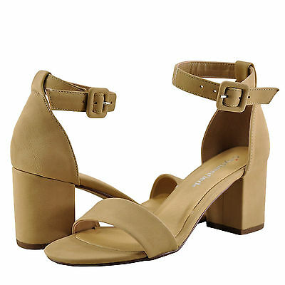 2e095b3d946a Women s Shoes City Classified Disc H Open Toe Ankle Strap Heel Natural  New