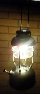 Tilley X246A Storm Proof  Lamp Lantern Working in Good Cond + Accs & Instructsns