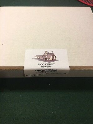 Ragg's...to Riches? Rico Depot-HO Scale Kit # RID-HO