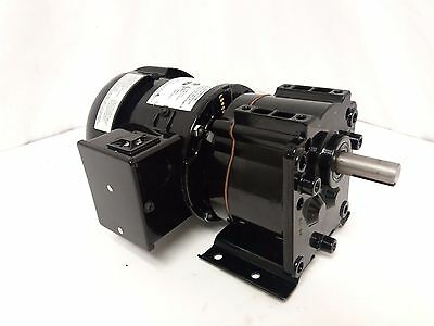 NEW DAYTON 6K325A 1/12HP Gear Speed Reducing Motor 127:1 Ratio 13.5RPM 115V AC