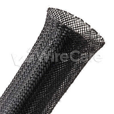 "CNN1.50BK - 1 1/2"" - Conductive Plastic Sleeving - Black - 25 Ft Cuts"
