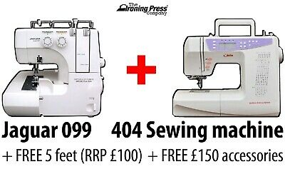 BUNDLE: Jaguar 097 Overlocker + 404 Sewing Machine