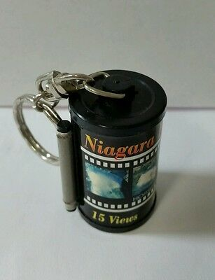 Niagara Falls Keychain W/ 15 Images, Ruler   Contact Index