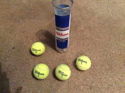 tennis balls used only in 4 sets !