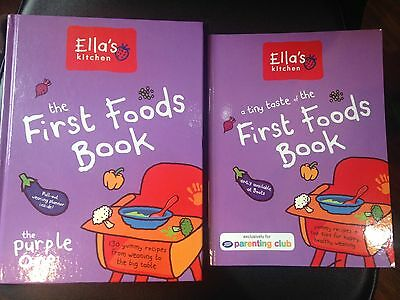 Ella's Kitchen First Foods Purple Books