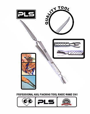 Pincement des Ongles, Magic Wand Tool 3 in 1 Manicure Tool for Pinching Nails