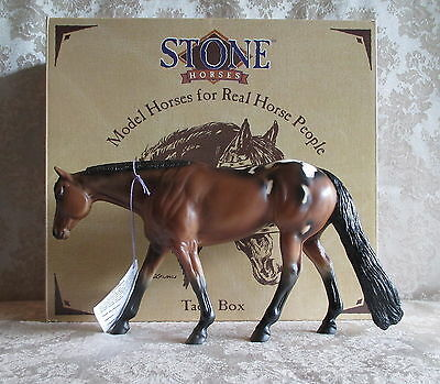 Peter Stone # 9625 Sparky Nova Western Pleasure Horse C. Liddy Collection SIGNED