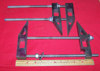 2 Steel Parallel Machinist Tool Maker Clamps