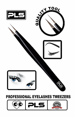 Pincée - Eyelashes tweezers , applicator, tweezers nipper, professional straight