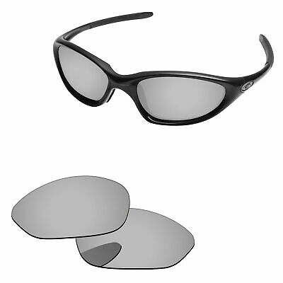 93805af63b Silver Mirror Polarized Replacement Lenses For-Oakley Twenty XX 2000  Sunglasses