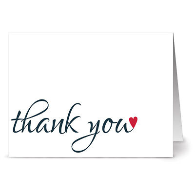 24 patriotic note cards thank you for your service red envs