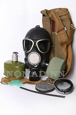 Russian soviet Gas mask PMK 2 (GP-7VM) full set with 2 filter included all size