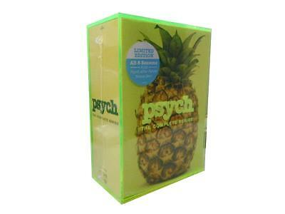 PSYCH: The Complete Series Seasons 1-8 (DVD, 2014, 31-Disc Set) 1 2 3 4 5 6 7 8