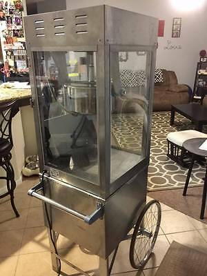 Super Pop Maxx 2600 Popcorn Machine with Cart