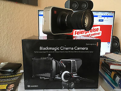 BLACKMAGIC Cinema Camera EF Camcorder 2.5K ohne Objektiv