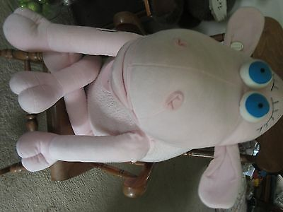 Huge Plush Serta #3 Breast Cancer Counting Sheep XL Plush Store Display Curto