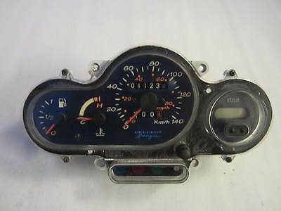 Genuine Peugeot Elyseo 125 Dn Clocks Instrument Cluster Dash 11234Km 1999 -2002