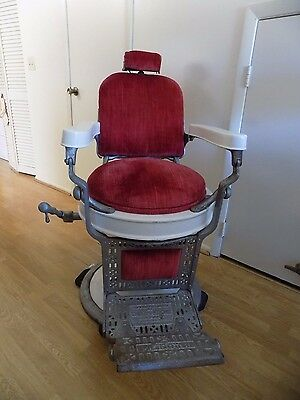 Theo-A-Koch 1930s Barber Chair