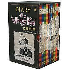 Diary of a Wimpy Kid - 10 book collection - NEW