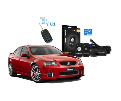 Holden VE Commodore Remote Start + Slice Jnr Remote Kit 600m Range 2 Way Conf...