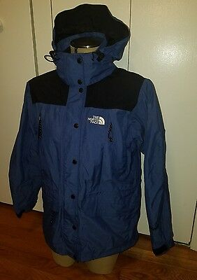 vintage womens size small The North Face Hyvent blue jacket coat raincoat