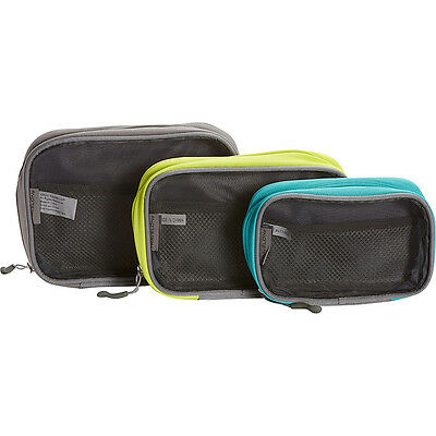 Travelon Lightweight 3-Piece Packing Squares 4 Colors Travel Organizer NEW