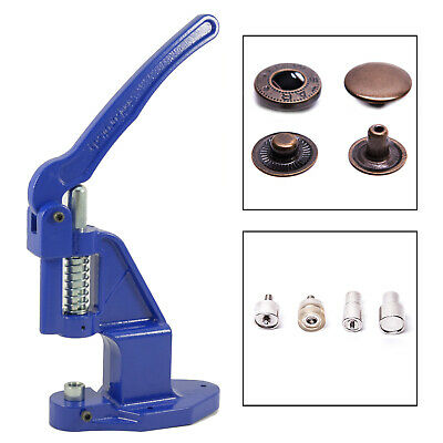Push button-press + 180 buttons ALFA / 15mm antique + Tool for Leather, Fabric