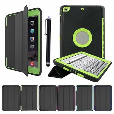 Kids Shockproof Heavy Duty Smart Case Cover Leather For IPad Mini 1 2 3 4 Air