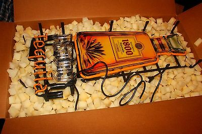 Jose Cuervo Tequila 1800 Neon Light Up Sign Game Room Man Cave