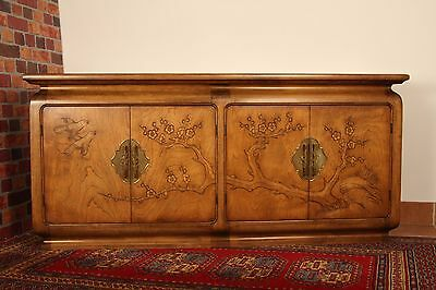 Vintage Buffet Credenza Sideboard James Mont Style Chinoiserie Hollywood