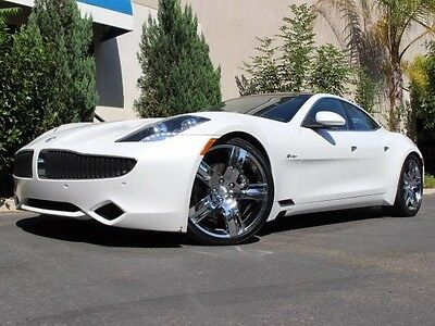 2012 Fisker Karma EcoSport Sedan 4-Door CLEAN CARFAX, GREAT COLOR COMBO, MUST SEE PICS, FINANCING AVAILABLE OAC.