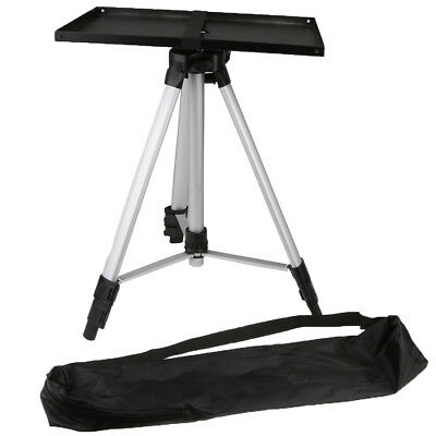 Adjustable Flexible Portable Projector Tripod Mount Holder Stand with Tray