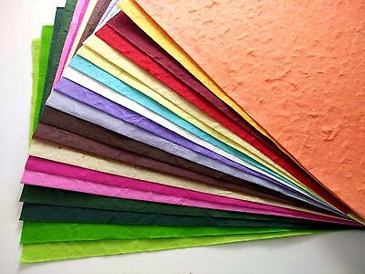 20 Sheets 21x29 Cm Thick Mulberry Paper Handmade Scrapbook Diy Craft Invitations