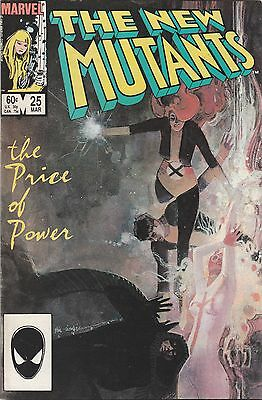 The New Mutants Marvel Vol 1 No25 Mar 1985