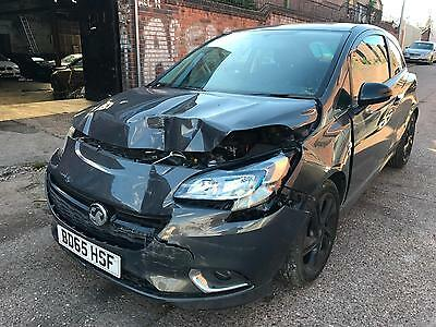 2015 Vauxhall Corsa 1.2i ( 70ps ) Limited Edition CAT D DAMAGE SALVAGE REPARIBLE